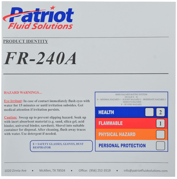 (3) Patriot Fluid Solutions