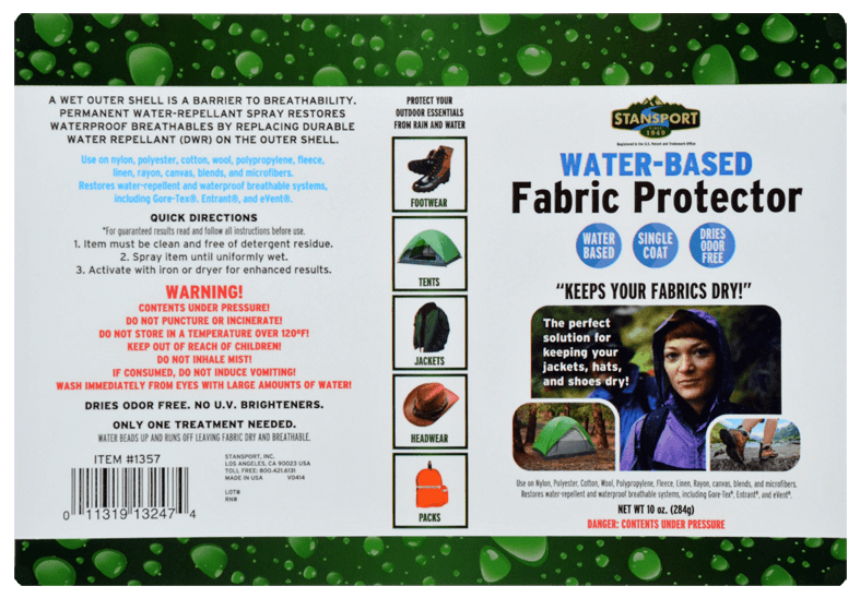 Stansport Water-based Fabric Protector