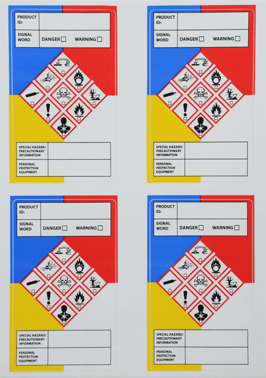 Department of Transportation Warning Labels 02