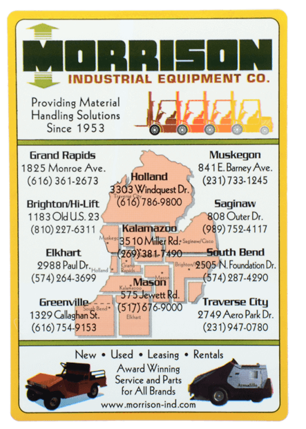Morrison Industrial Equipment and FM Forklifts