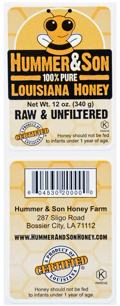 Honey Product Labels 02